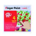 美邦RFC0435-4色手指颜料35ml   6色手指颜料