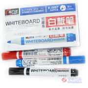 金万年K-0607白板笔  黑/红/蓝