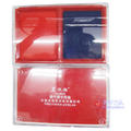 亚信9865透明盒双色印台W-9865