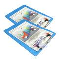 永益8020B夹板/A5平夹 透明