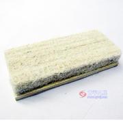 全棕羊毛木面黑板擦(F051)t-051
