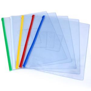 创易彩色拉边袋 A4 A5 A6 B4 A3  颜色随机