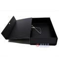 凤江F813A/订F813A档案盒 有夹深蓝6cm