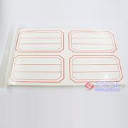 首优选A04红、蓝不干胶(湖人) 圆边  口取纸 标签纸