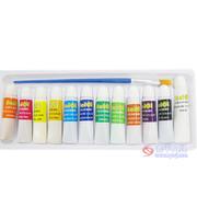 贝奇706-12色水粉画颜料