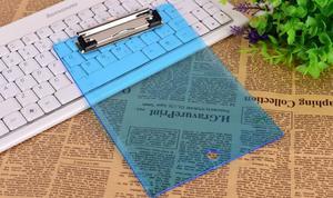 创易蓝色透明夹板 大夹/蝴蝶夹 平夹 A67、A5、A4    、0255、0256、0257、0258、0285