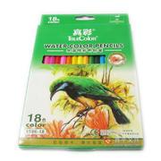 真彩4586-18六角水溶性彩色铅笔