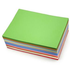 A4彩色复印纸 /深色 1*100*500  红色/大红、黄色、橙色